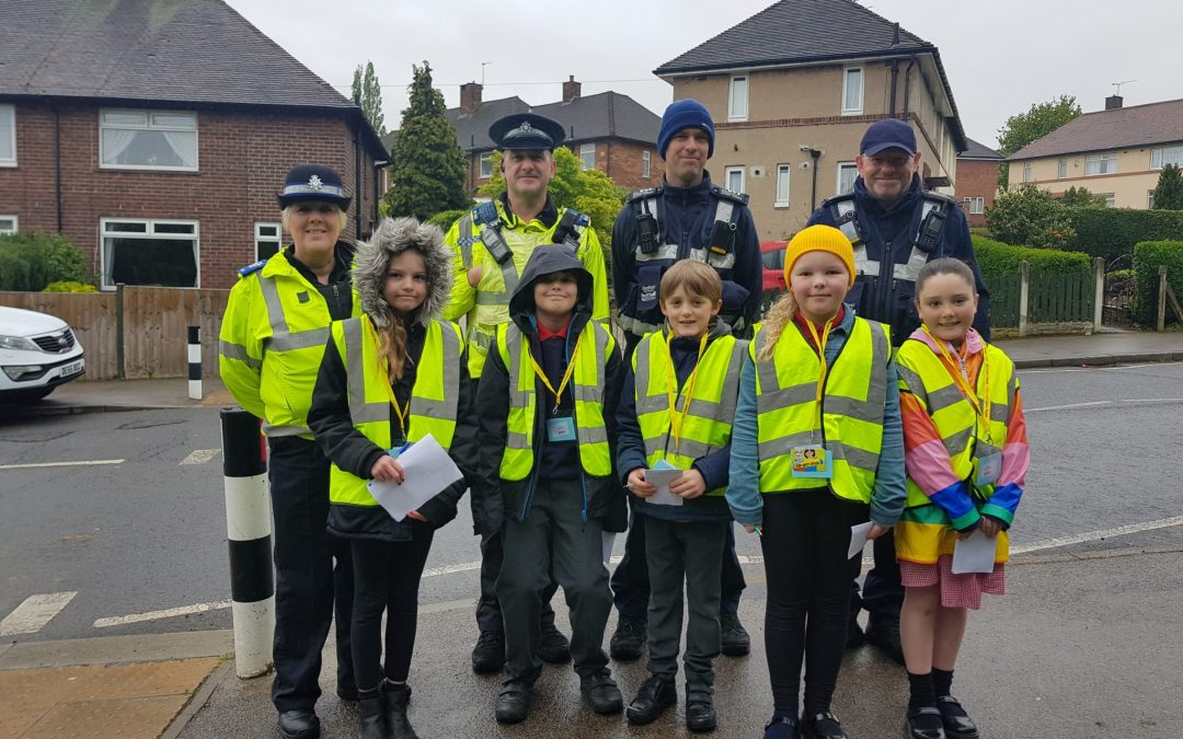 Primary school recruits tackle school parking problems