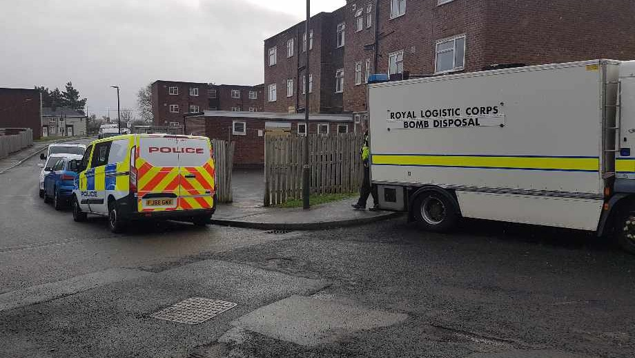 Bomb threat forces Police to evacuate houses in Newbold, Chesterfield.