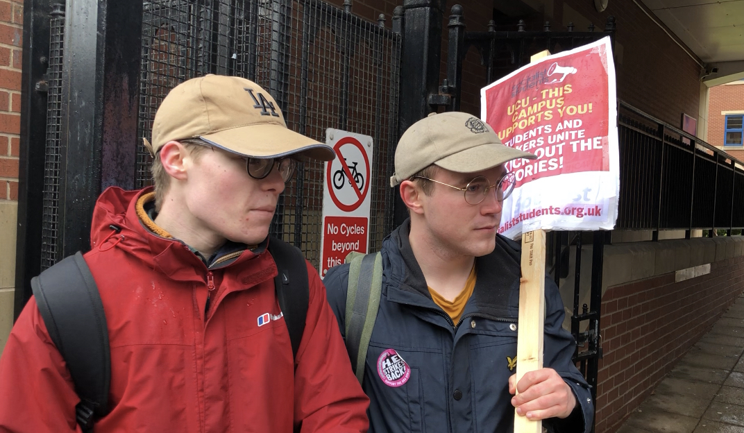 University of Sheffield Students and Staff Unite over Strikes