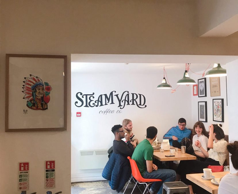 Steam Yard is the UK's most instagrammed independent coffee shop