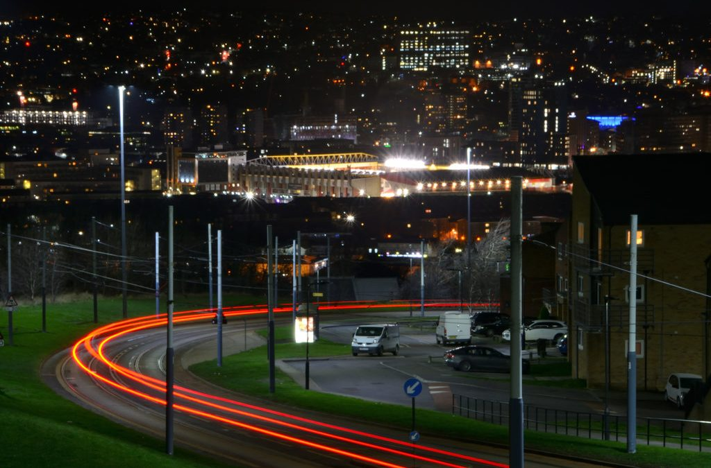 Plans have been submitted to reduce the number of incidents at a Sheffield accident blackspot
