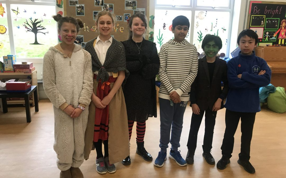 World Book Day at Hallam Primary School