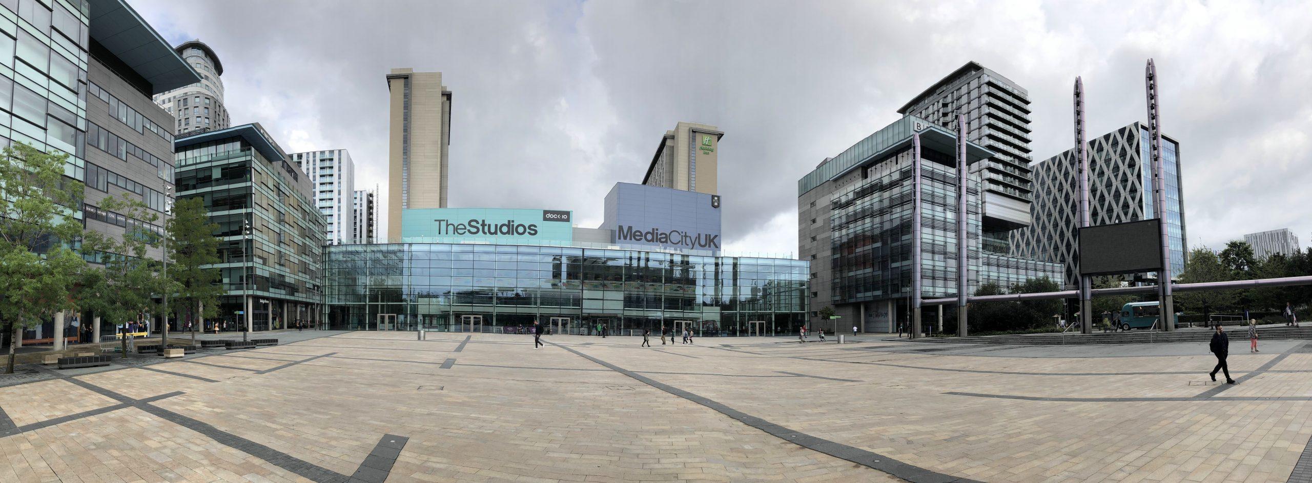 An image of The Studios at MediaCityUK in Salford
