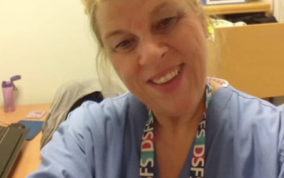 A Final Tribute for the NHS worker dedicated her life today