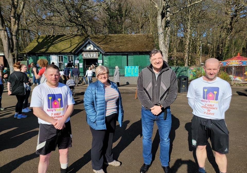 Man completes mammoth run to raise thousands for Sheffield charity