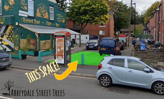 New proposal to put 'parklet' on Abbeydale Road