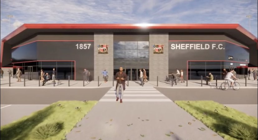 Sheffield FC claim new stadium could make club more sustainable