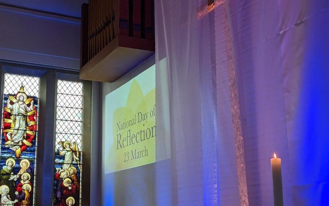 Marie Curie leads National Day of Reflection in Sheffield Churches and Cathedral