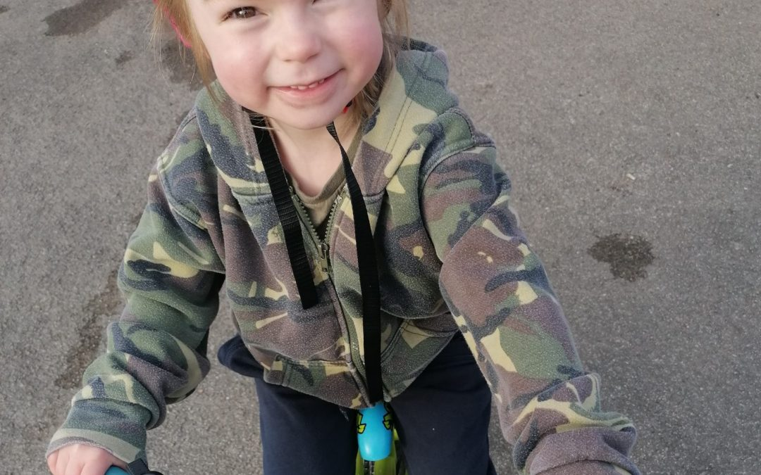 Four-year-old girl to cycle 100 miles for mental health awareness