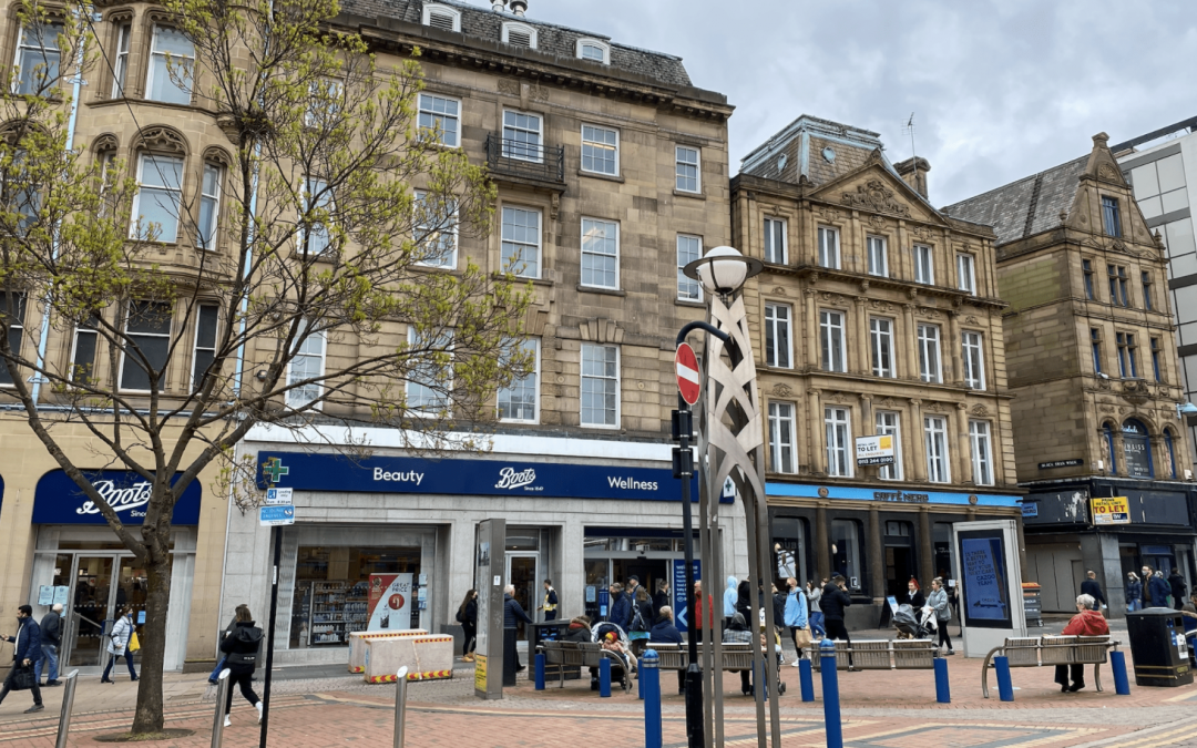 Chinese student racially attacked in Sheffield city centre