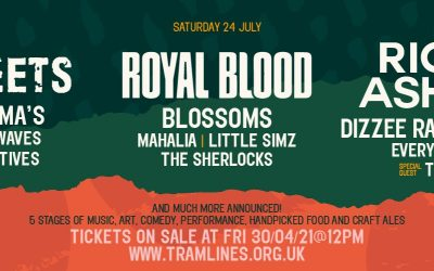 Richard Ashcroft, The Streets and Royal Blood headline the Tramlines festival