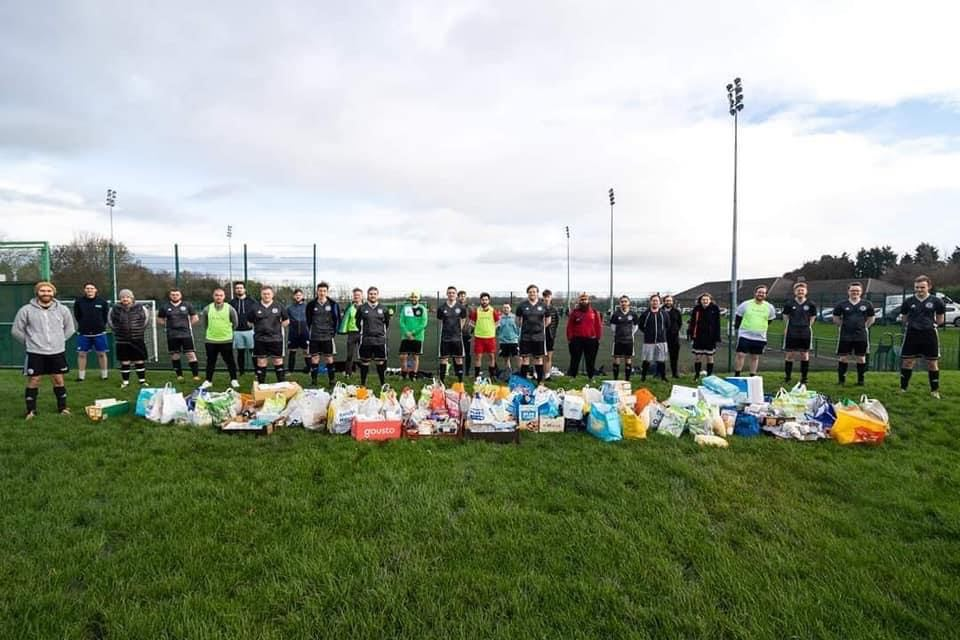 Football for Foodbanks project restarts after lockdown