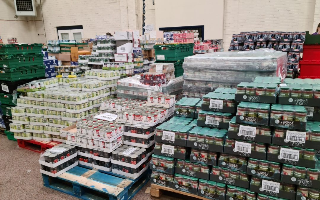 WATCH: Foodbank figures fly for South Yorkshire as one in five of the UK population now live below the poverty line