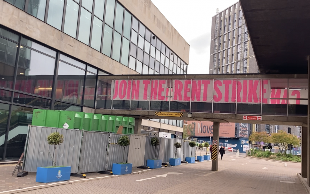 WATCH: Rent strikers criticise the University of Sheffield and its Students' Union as protests enter second week