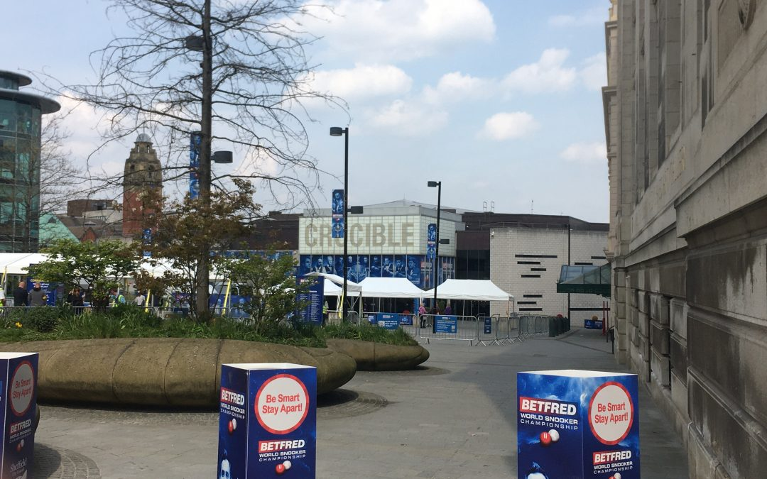 Sheffield's The Crucible welcome fans back for the Snooker World Championships