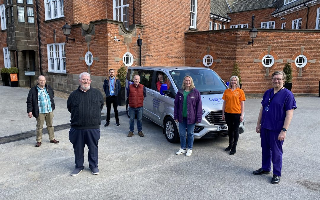 Sheffield cancer charity launch patient transport service
