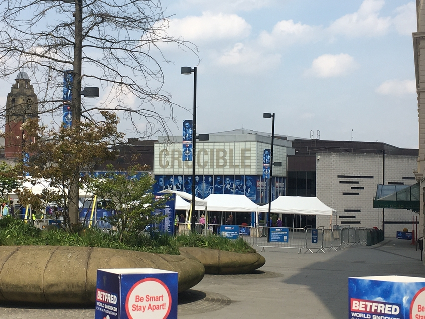 The Betfred World Snooker Championship returns to Sheffield theatre The Crucible