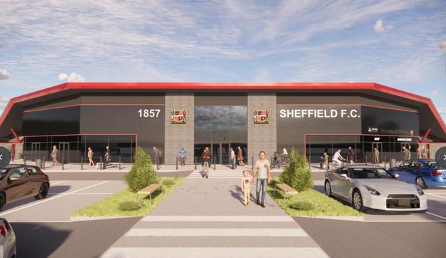 WATCH: Sheffield FC plan new 4,000-seat stadium in Meadowhead