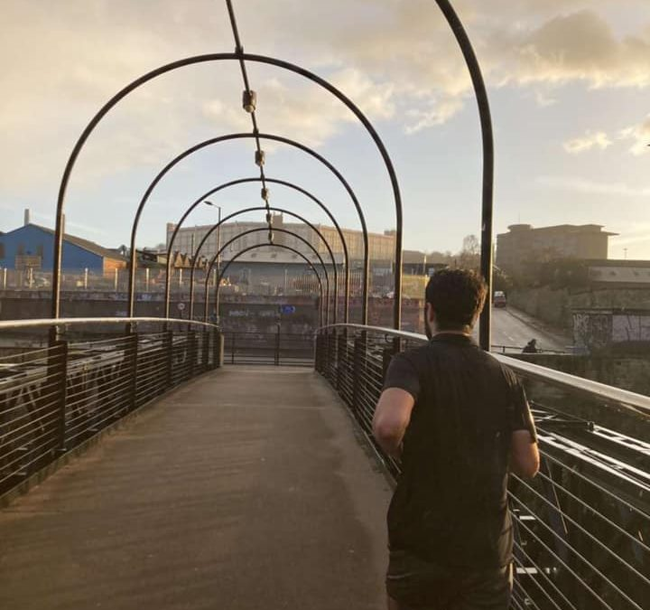 Student Runs 10K Every Day to Raise Money for Mental Health Awareness Week