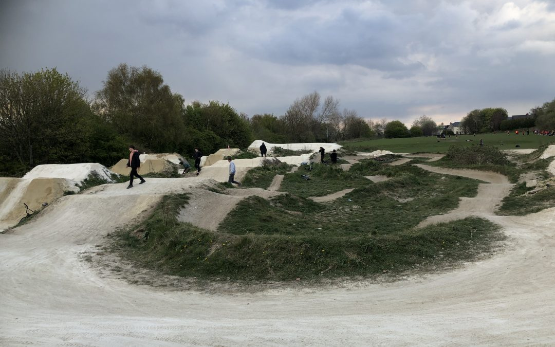 Volunteers Repair Bolehills BMX Track After Successful Donation Drive