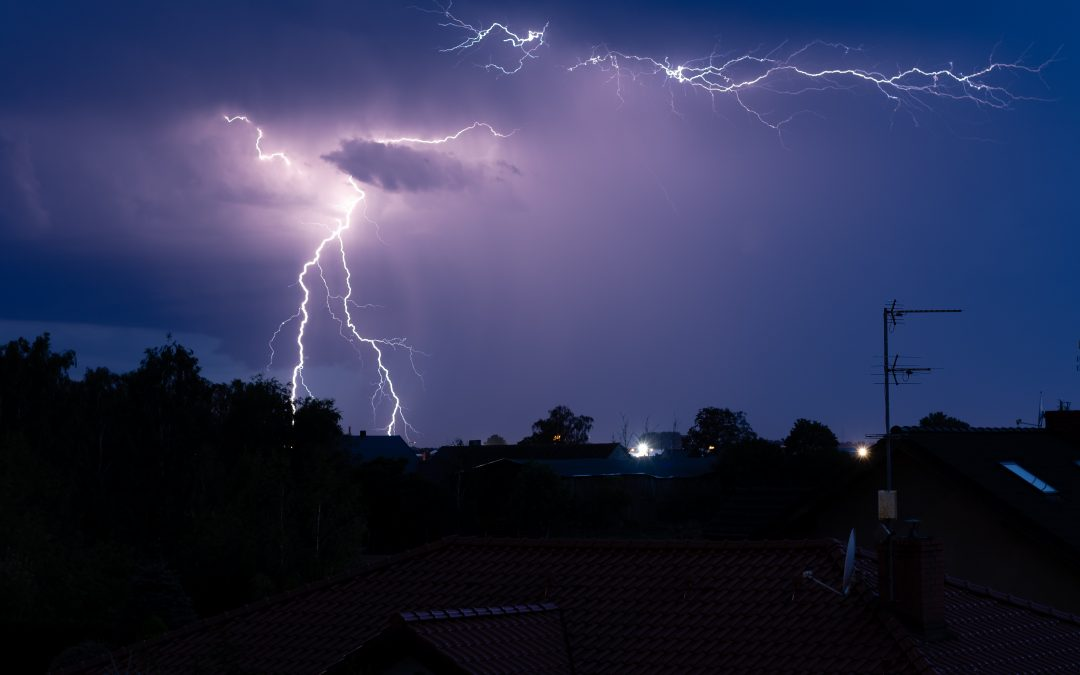 Sheffield hit by a large storm