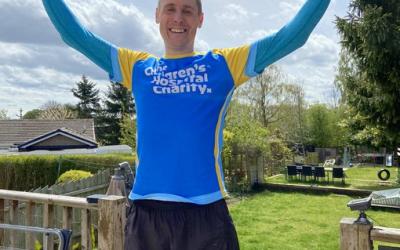 Sheffield man's NHS fundraising challenge passes £4,000