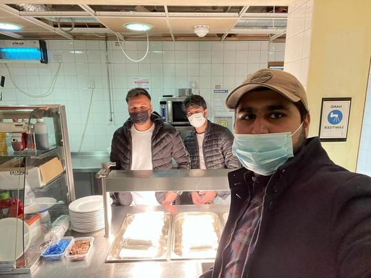 Islam association returns to feeding the homeless after lockdown